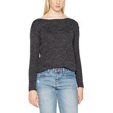 Blend She Damen Pullover Sun R Pu CA1, Grau (Dark Grey Melange 20044), 34 (Herstellergröße: XS)