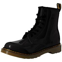 Dr. Martens Unisex-Kinder 1460 Y Klassische Stiefel, Schwarz (Black 001), 37 EU