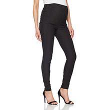 Noppies Damen Umstandshose Pants Otb Bengalin, Schwarz, 40 (Herstellergröße: L)