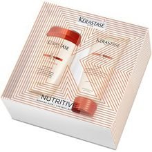Kérastase Haarpflege Nutritive Geschenkset Bain Satin 1 250 ml + Lait Vital 200 ml 1 Stk.