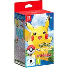 Nintendo Switch Pokémon - Let's Go, Pikachu! + Pokéball Plus