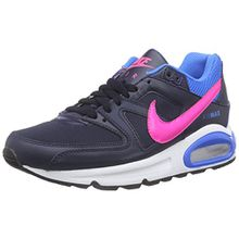 Nike Air Max Command (GS), Unisex-Kinder Sneakers, Schwarz (Obsidian/Pink Pow-Photo Blue 464), 37.5 EU