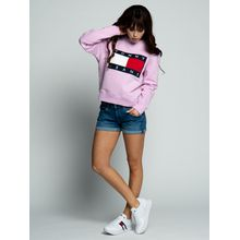 Tommy Jeans Sweatshirt in rosa für Damen