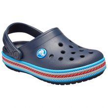 Crocs - Kid's Crocband Sport Cord Clog - Sandalen Gr C10;C11;C12;C13;J1;J2;J3;J4;J5;J6 weiß;blau