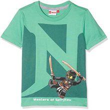 Lego Wear Jungen T-Shirt Lego Ninjago Thomas 417, Grün (Green 856), 104