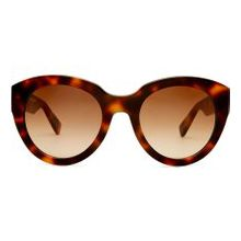 VIU - The Beloved Sonnenbrille für Damen & Herren mit modernem, Butterfly Gestell in Cherrywood Shiny