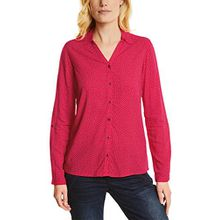 Cecil Damen Bluse 340742 Mathea, Rot (Salsa Red 21198), Large