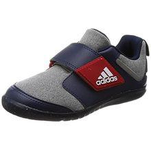 adidas Unisex Baby Fortaplay AC I Sneaker, Verschiedene Farben (Brgrin/Escarl/Maruni), 24 EU