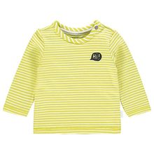 Langarmshirt  gelb Jungen Baby