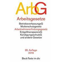 Broschiertes Buch »Arbeitsgesetze (ArbG)«