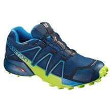 Salomon Trailrunningschuhe Speedcross 4 GTX Trailrunningschuhe blau Herren