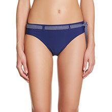 ESPRIT Bodywear Damen Slip Bikinihose HUNTINGTON BEACH, Einfarbig, Gr. 36, Blau (YACHT BLUE 575)