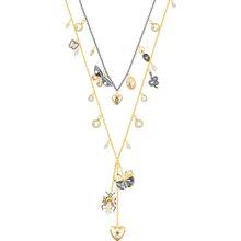 Magnetic Halskette, mehrfarbig, Metallmix