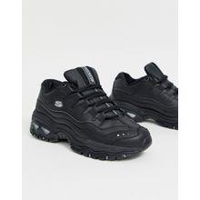 Skechers - Energy - Schwarze Sneaker - Mehrfarbig