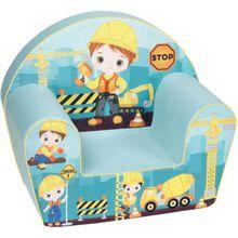 knorr-baby Mini-Sessel Baustelle, blau