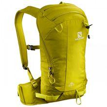 Salomon - Qst 12 - Skitourenrucksack Gr 12 l gelb/orange/oliv;schwarz/grau