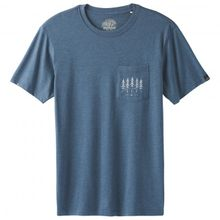 Prana - Hollis Pocket T-Shirt Gr L;M;S;XL;XXL weiß/grau;orange/beige;blau