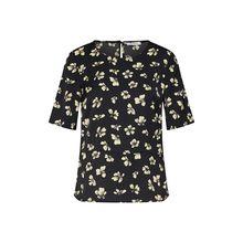 PIECES Shirt Stine 3/4-Arm-Shirts schwarz Damen