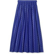 Stockerpoint Damen Dirndlschürze Schürze SC-195, Blau (Royale), 2 (Herstellergröße: 40-44)