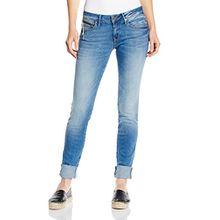 Mavi Damen Skinny Skinny Jeans Serena 10670, Gr. W30/L34, Blau (Mid Glam Fit 15137)