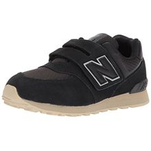 New Balance Unisex-Kinder Sneaker, Schwarz (Black), 40 EU (6.5 UK)