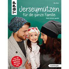 Buch - Jerseymützen die ganze Familie (kreativ.kompakt.)  Kinder