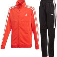ADIDAS PERFORMANCE Trainingsanzug 'Tiro' rot / schwarz / weiß