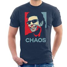 Ian Malcolm Chaos Theory Jurassic Park Hope Men's T-Shirt