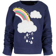Blue Seven Sweatshirt - bunt gemustert