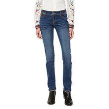 Desigual Damen Slim Jeans DENIM_REFRIPOSAS, Blau (Denim Dark Blue 5008), W26
