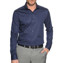 Mishumo Hemd Regular Fit in blau für Herren