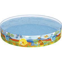Bestway® Dinosaurous Fill 'N Fun Pool, Planschbecken 183x38 cm