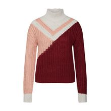 Review Pullover rosa / weinrot