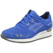 Asics Gel-Lyte Iii, Unisex-Erwachsene Sneakers, Blau (Mid Blue/Mid Blue 4242), 42.5 EU (8.5 UK)