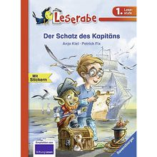 Buch - Leserabe: Der Schatz des Kapitäns, 1. Lesestufe