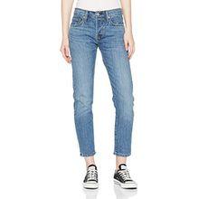 Levi's Damen Straight Jeans 501 Taper, Blau (On MY Side 0022), 25/28