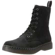 Tamaris Damen 25718 Combat Boots, Schwarz (Black Velvet), 36 EU