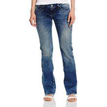 LTB Jeans Damen Boot-Cut Jeanshose VALERIE, Gr. W30/L30 (Herstellergröße: 30.0), Blau (ROSWELL WASH 4729.0)