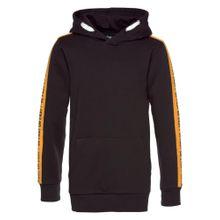 BUFFALO Kapuzensweatshirt gelb / schwarz