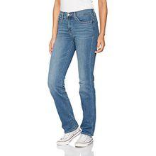 Levi's Damen Jeans 314 Shaping Straight, Blau (East Side 49), W26/L32
