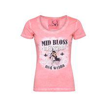 MarJo Trachtenshirt T-Shirts koralle Damen