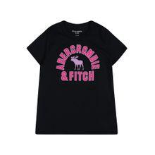 Abercrombie & Fitch T-Shirt 'DTC SS OPP' nachtblau / dunkelpink
