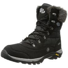 Bruetting Himalaya 711004, Damen Schneestiefel, Schwarz (schwarz), EU 36