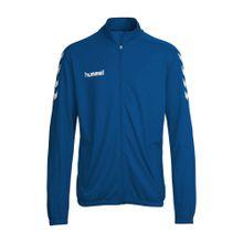 Hummel Trainingsjacke 'Core Poly Jacket' himmelblau / weiß