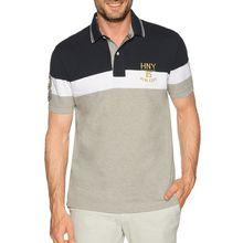 Tommy Hilfiger Poloshirt in grau für Herren