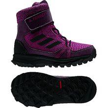 adidas Unisex-Kinder Terrex Snow CF CP CW K Trekking-& Wanderstiefel, Verschiedene Farben (Rubmis/Negbas/Borosc), 38 EU