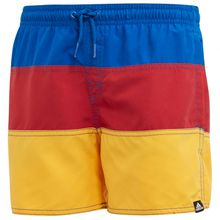 adidas - Kid's Colorblock Shorts - Badehose Gr 128;140;152;158;164 orange/blau/rot;rot/schwarz/blau