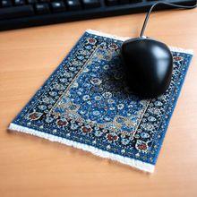 Mousepad Orientteppich blau