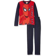 Spiderman Jungen Zweiteiliger Schlafanzug 162073, Noir (White/Peacoat 19-3920TCX/Racing Red 19-1763TCX), 5 Jahre