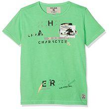 Garcia Kids Jungen T-Shirt P83600, Grün (Greenery 2609), 128 (Herstellergröße: 128/134)